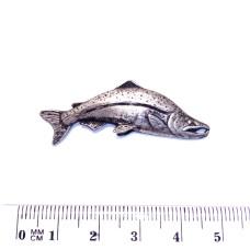Ozdoba pro Rybářskou kravatovou sponu - motiv Candát