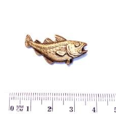 Ozdoba pro Rybářskou kravatovou sponu - motiv Ryba