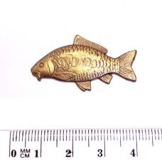 Ozdoba pro Rybářskou kravatovou sponu - motiv Kapr
