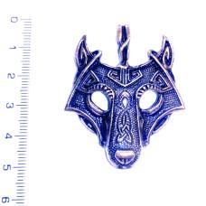 Přívěsek Vlčí maska