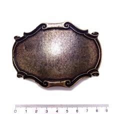 Opasková přezka, vhodná pro kožený vklad 40 mm